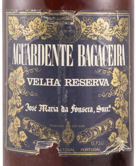 Aguardente Bagaceira José Maria da Fonseca Velha Reserva