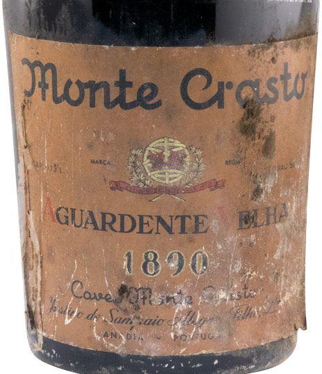 1890 Aguardente Monte Crasto Velha 73cl