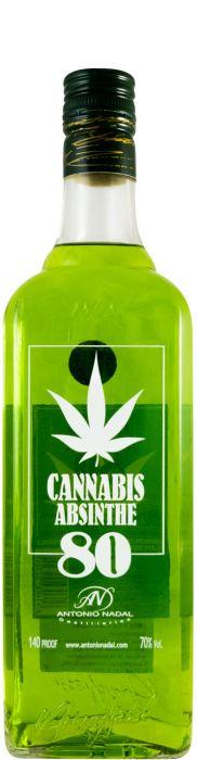 Absinto Túnel Green Cannabis 80%
