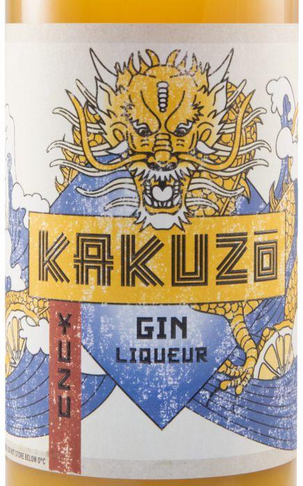 Licor de Gin Kakuzo Yuzu