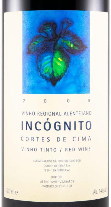 2009 Cortes de Cima Incógnito tinto 1,5L