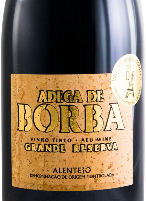 2013 Borba Grande Reserva Gold red