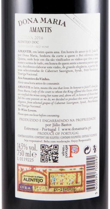 2016 Júlio Bastos Amantis Reserva tinto