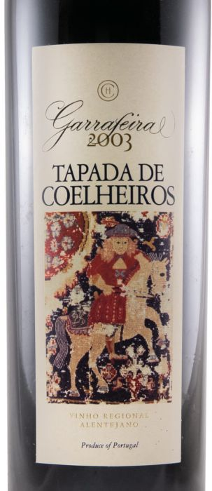 2003 Tapada de Coelheiros Гаррафейра красное