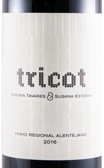 2016 Esteban & Tavares Tricot red