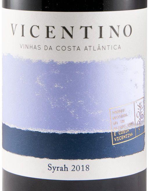 2018 Vicentino Syrah tinto