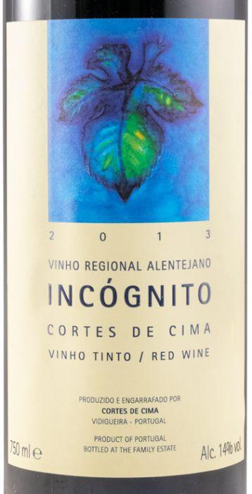 2013 Cortes de Cima Incógnito tinto