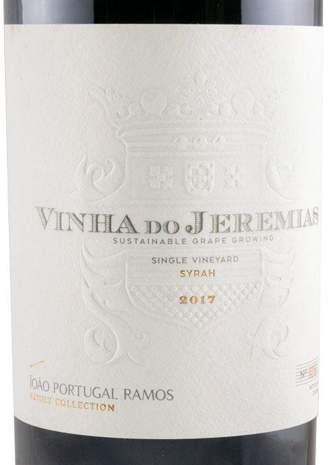 2017 João Portugal Ramos Vinha do Jeremias Syrah red