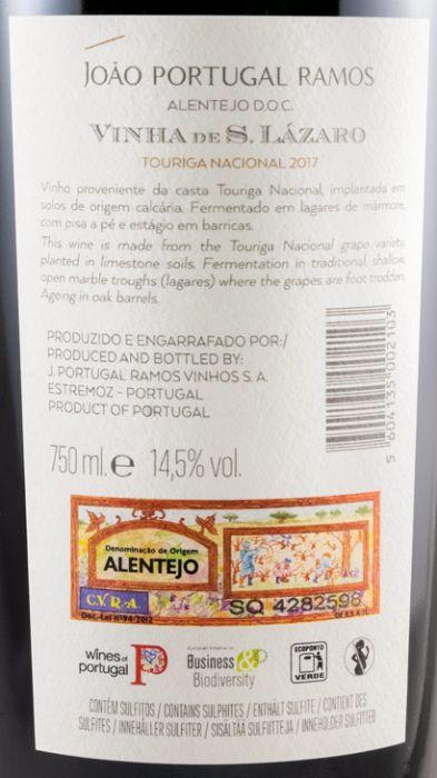 2017 João Portugal Ramos Vinha de S. Lázaro Touriga Nacional tinto