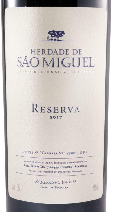 2017 Herdade de São Miguel Reserva tinto