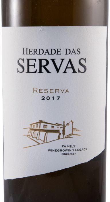 2017 Herdade das Servas Reserva white