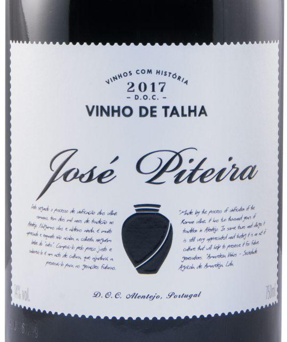2017 José Piteira Talha red