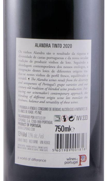 2020 Herdade do Esporão Alandra tinto