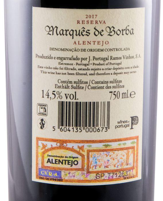 2017 João Portugal Ramos Marquês de Borba Reserva tinto