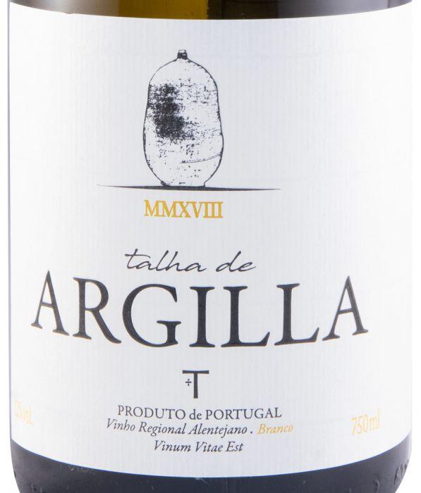 2018 Talha de Argilla white