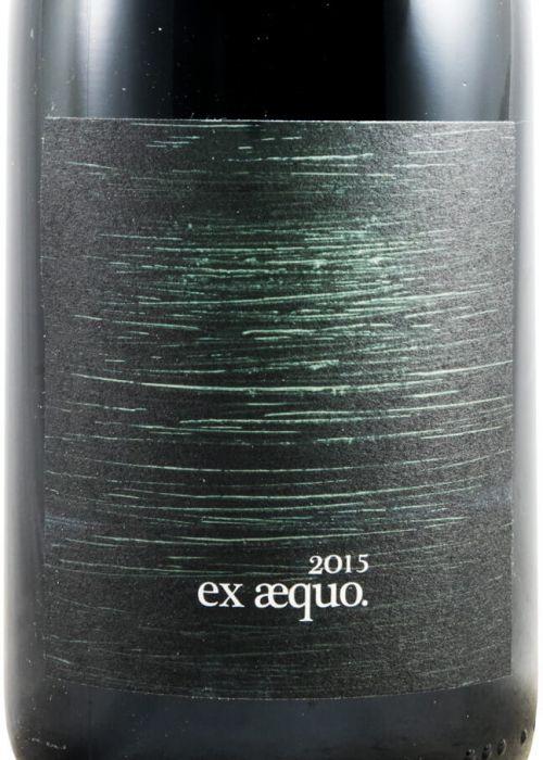 2015 Quinta do Monte d'Oiro Ex-Aequo tinto