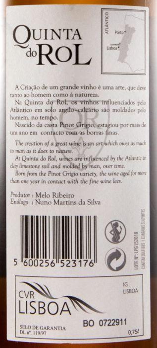 2015 Quinta do Rol Pinot Grigio white