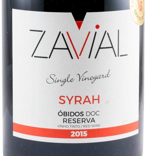 2015 Zavial Syrah tinto