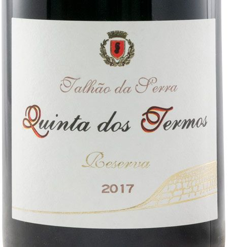 2017 Quinta dos Termos Talhão da Serra Rufete Резерв красное