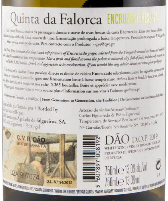 2019 Quinta da Falorca Reserva Encruzado white