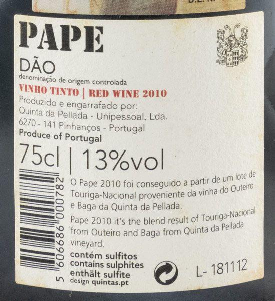 2010 Álvaro Castro Quinta da Pellada Pape red