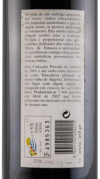 2001 Domingos Soares Franco Colecção Privada Trincadeira red