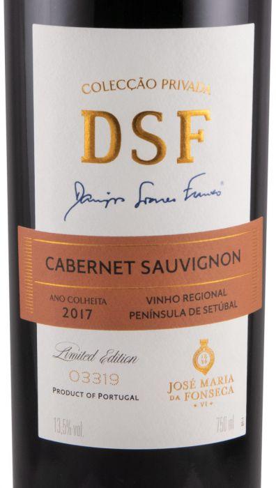 2017 Domingos Soares Franco Colecção Privada Cabernet Sauvignon red