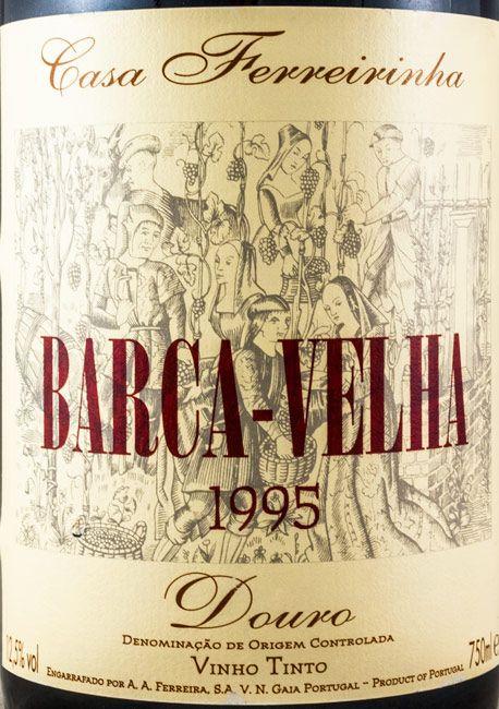 1995 Barca Velha tinto