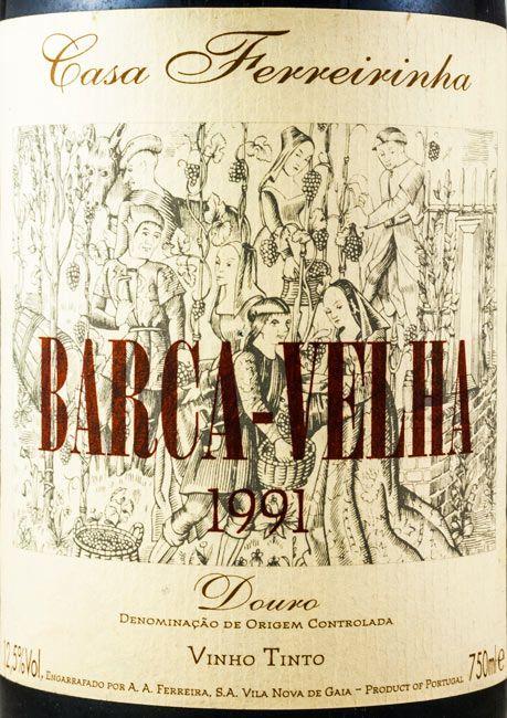 1991 Barca Velha tinto