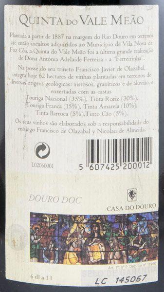 2000 Quinta do Vale Meão tinto