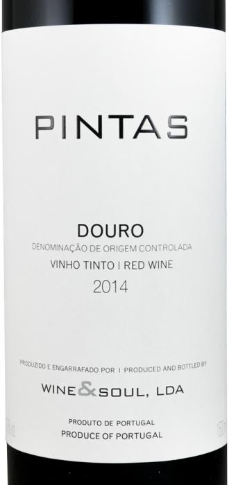 2014 Wine & Soul Pintas tinto 1,5L