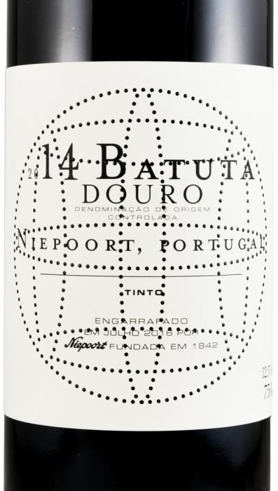 2014 Niepoort Batuta red