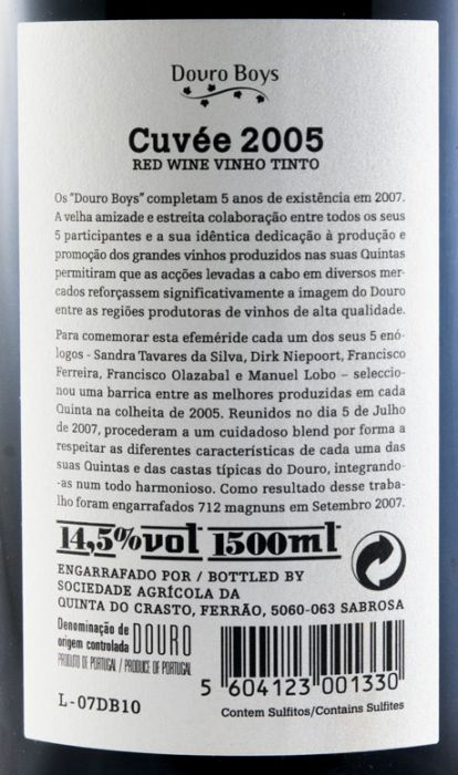 2005 Douro Boys Cuvée tinto 1,5L