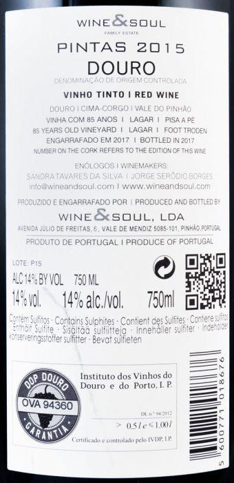 ワイン&ソール・ピンタス 赤 2015年