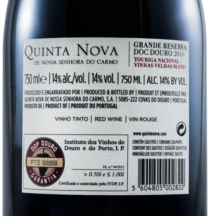 2016 Quinta Nova Grande Reserva tinto