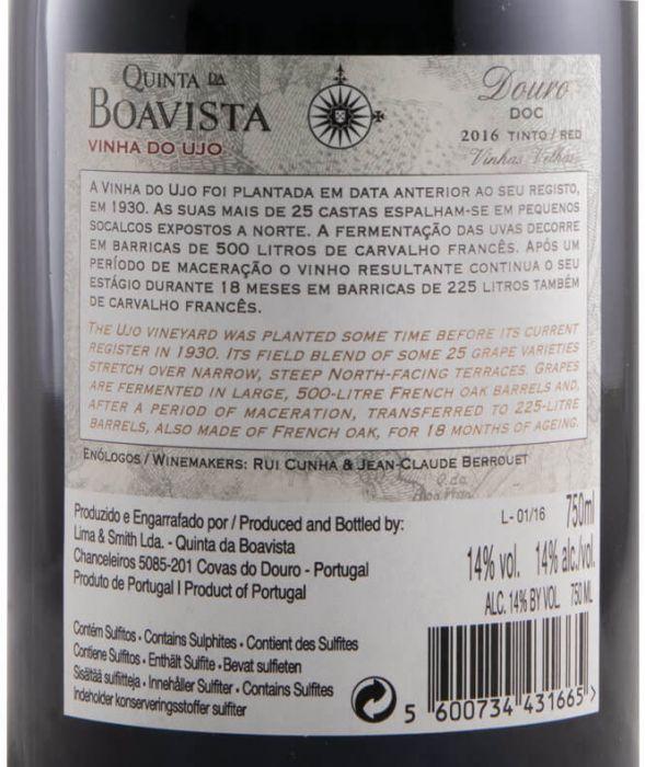 2016 Quinta da Boavista Vinha do Ujo tinto