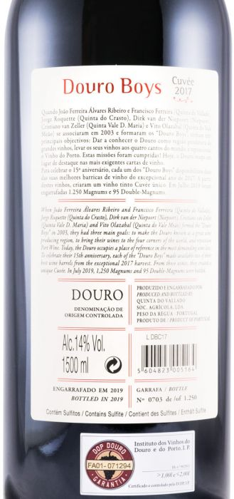 2017 Douro Boys Cuvée tinto 1,5L