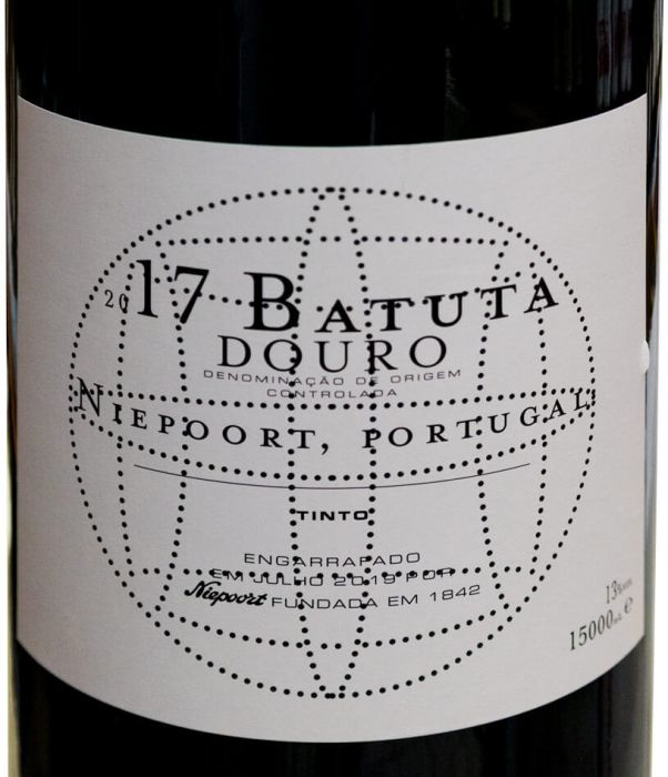 2017 Niepoort Batuta tinto 15L