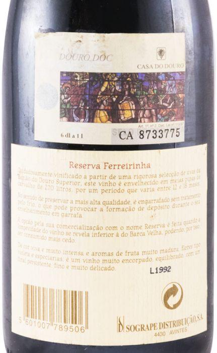 1992 Casa Ferreirinha Reserva tinto