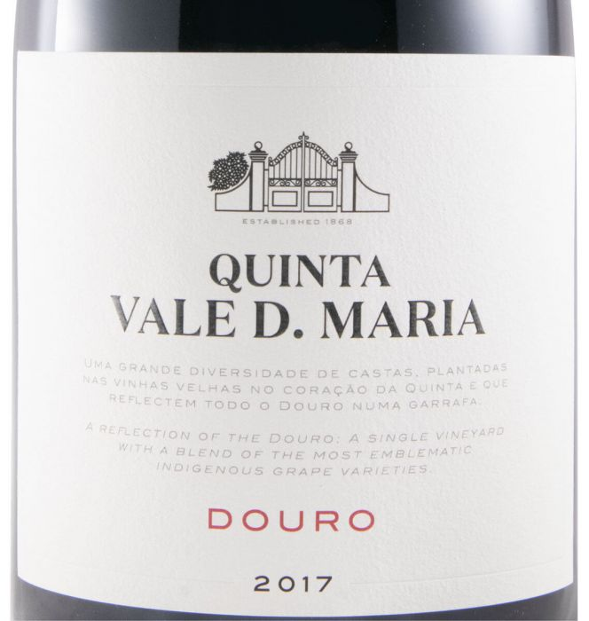 2017 Quinta Vale Dona Maria red 1.5L