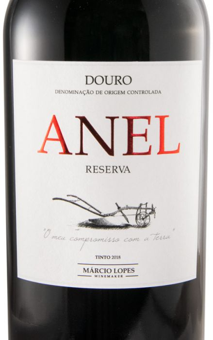 2018 Anel Reserva red
