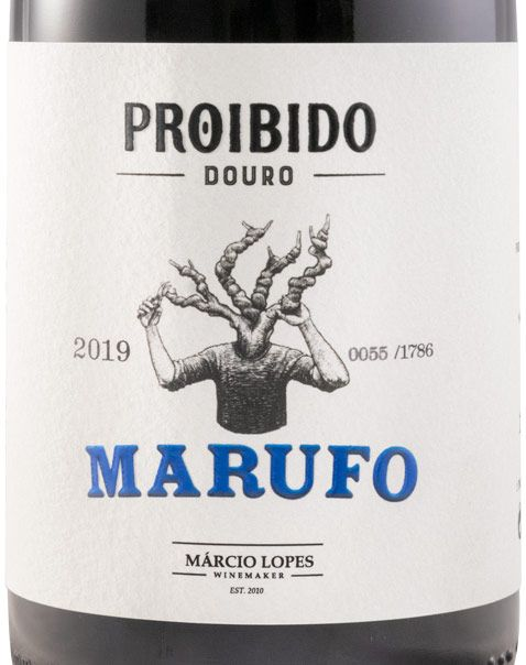 2019 Proibido Marufo tinto