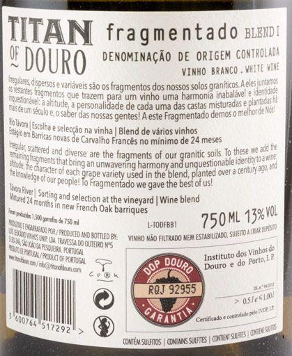 Titan Of Douro Fragmentado Blend 1 white
