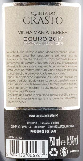 2017 Quinta do Crasto Vinha Maria Teresa tinto