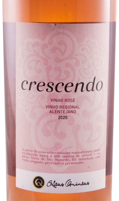 2020 Altas Quintas Crescendo rose