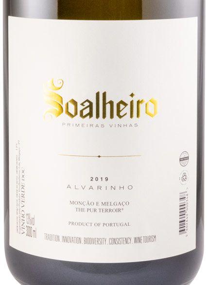 2019 Soalheiro Alvarinho Primeiras Vinhas white 3L
