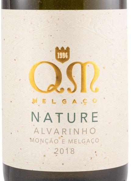 2018 Quintas de Melgaço QM Алваринью Nature белое