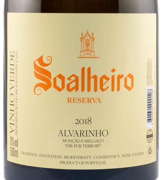 2018 Soalheiro Alvarinho Reserva white 1.5L