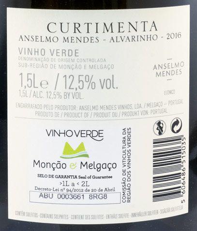 2016 Anselmo Mendes Curtimenta Alvarinho branco 1,5L