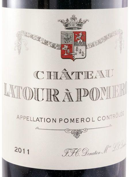2011 Château Latour à Pomerol red